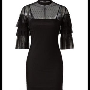 Alexia Admor Black sheath dress